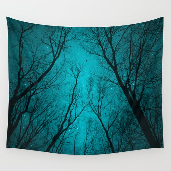Endure the Darkness Wall Tapestry