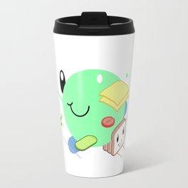 Tasty Visuals - Sandwich Time (No Grid) Travel Mug