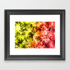 Abstract 2014-11-01 Framed Art Print