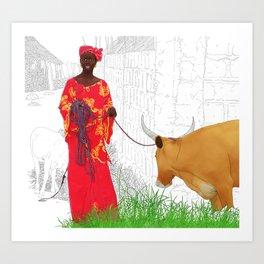 Diakha Medina Art Print