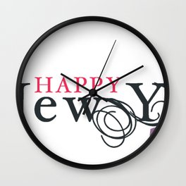 2017 Wall Clock