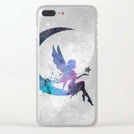 Galaxy Series (Fairy) Clear iPhone Case