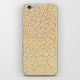 Ditsy Flora Yellow iPhone Skin