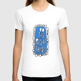 Rule #1: Blue T-shirt
