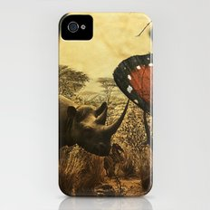 Diorama :: Rhinos Slim Case iPhone (4, 4s)