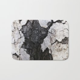 bark abstact no1 Bath Mat