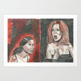 I Was Rooting For You Art Print