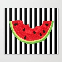Cool Watermelon Canvas Print