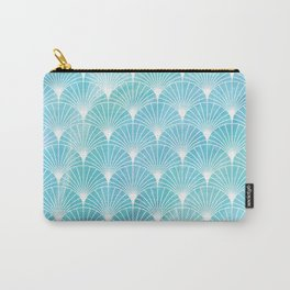 Mermaid Fans: Ocean Mist Carry-All Pouch