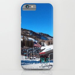 Patriotic Winter iPhone Case