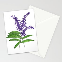 Mexican sage Stationery Cards