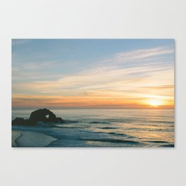 Sutro Baths, San Francisco. Canvas Print