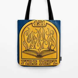 Fire Department 451 Tote Bag
