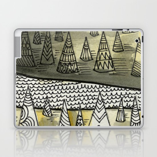 River Runnin Laptop & iPad Skin