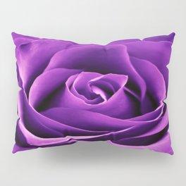 Purple Passion Rose Pillow Sham