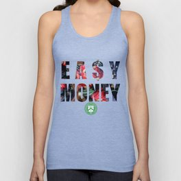 Easy Money - Floral Unisex Tank Top