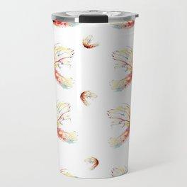 Butterfly art watercolor Travel Mug