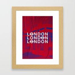 London slap up Framed Art Print