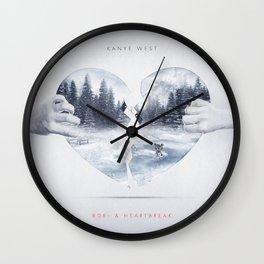808s & Heartbreak ft. Dropout Bear Wall Clock