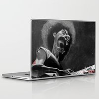 zappa Laptop & iPad Skins featuring Frank Zappa by Katon Aqhari