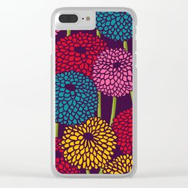 Full of Chrysanth Clear iPhone Case