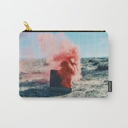 Torch with Pink Smoke Carry-All Pouch