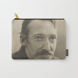 Vintage Robert Louis Stevenson Photo Portrait Carry-All Pouch