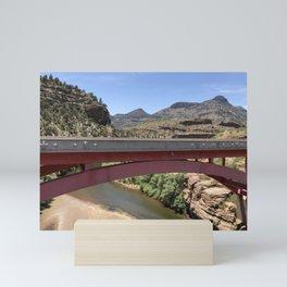 Bridge Salt River White Mountains, Arizona Mini Art Print