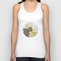 birthday Tank Tops featuring Birthday Party by Judith Loske