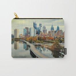 Philadelphia Fall Skyline Carry-All Pouch