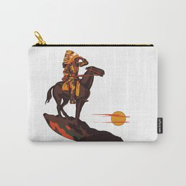 Native American Sunset Carry-All Pouch