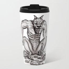 Mix - creature - Troll Devil and Golem Gargoyle Travel Mug