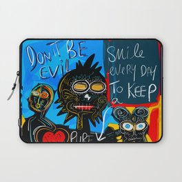 Don't be Evil Street Art Graffiti Laptop Sleeve
