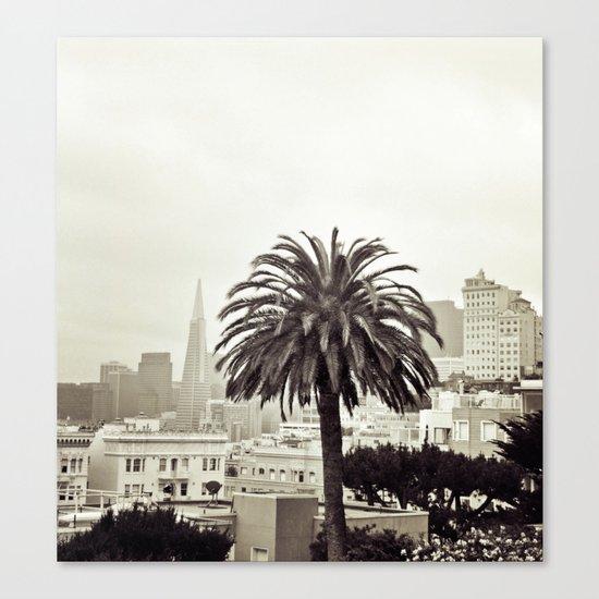 SF Canvas Print