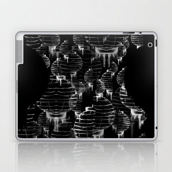 Lantern - black Laptop & iPad Skin