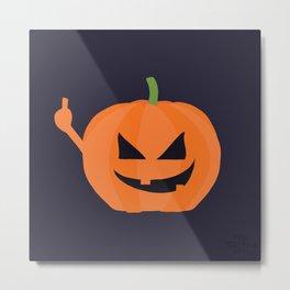 Pumpkin Spice Metal Print