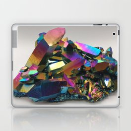 Titanium Rainbow Aura Quartz 1 Laptop & iPad Skin