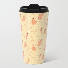 Robin's Egg in Yellow Travel Mug