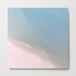 """Ocean dreams"". At the paradise Metal Print"