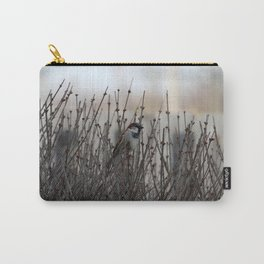 Chickadee in a Bush Carry-All Pouch