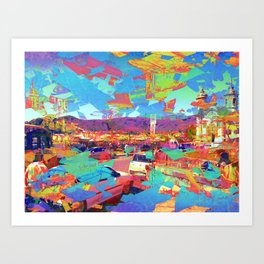 20180814 Art Print