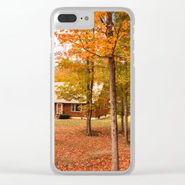 house in vermont Clear iPhone Case