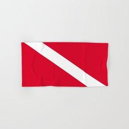 Diver Flag Hand & Bath Towel