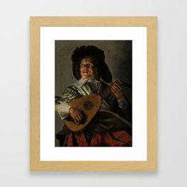 """Judith Leyster """"The Serenade"""" Framed Art Print"""
