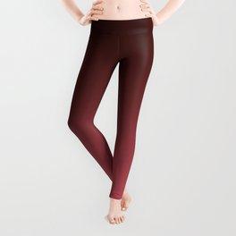 Black-red Ombre Leggings