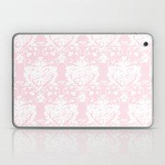 giving hearts giving hope: pink damask Laptop & iPad Skin