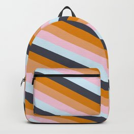 dream BIG BIG dreams retro lines pattern Backpack