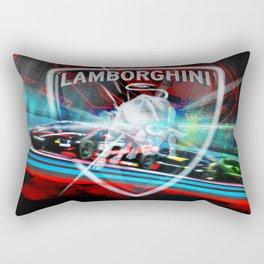 Lamborghini Blancpain Super Trofeo #1 Rectangular Pillow