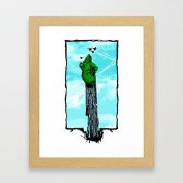 Beetham Tower Framed Art Print