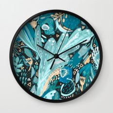 Night Shades Wall Clock